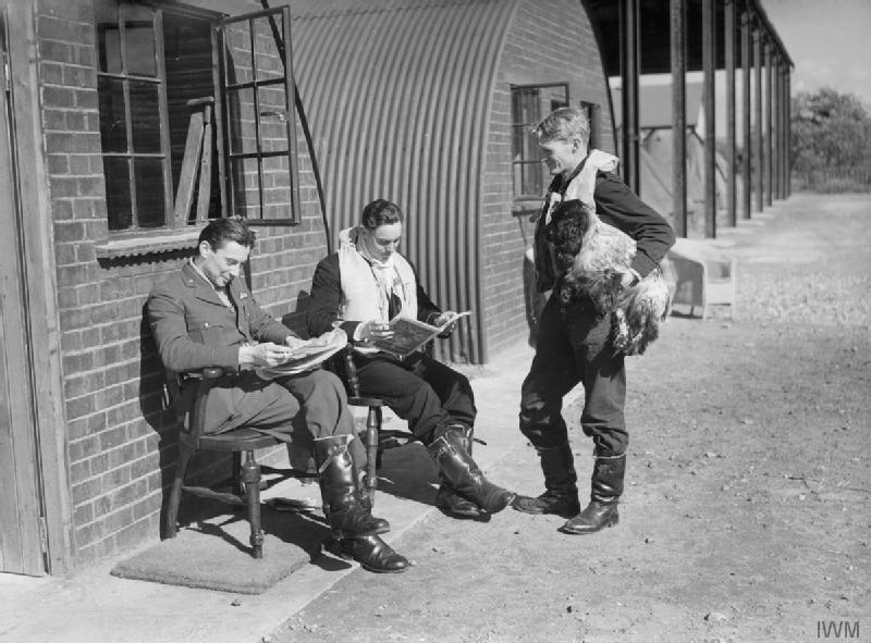 Pilots at rest