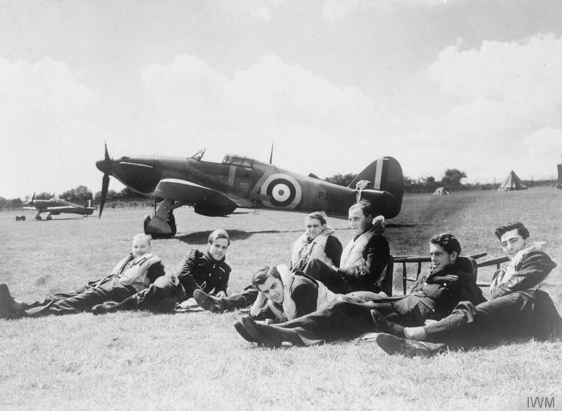 Pilots lounging