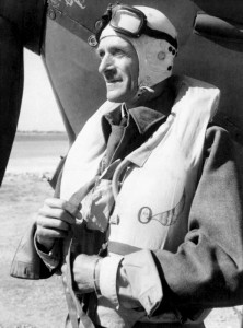 A picture of Sir Keith Park in his flight suit