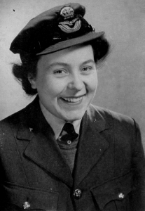 Photo of Eileen Younghusband in WAAF  uniform,