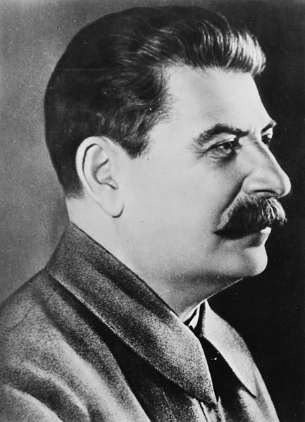 A photo of Joseph Stalin